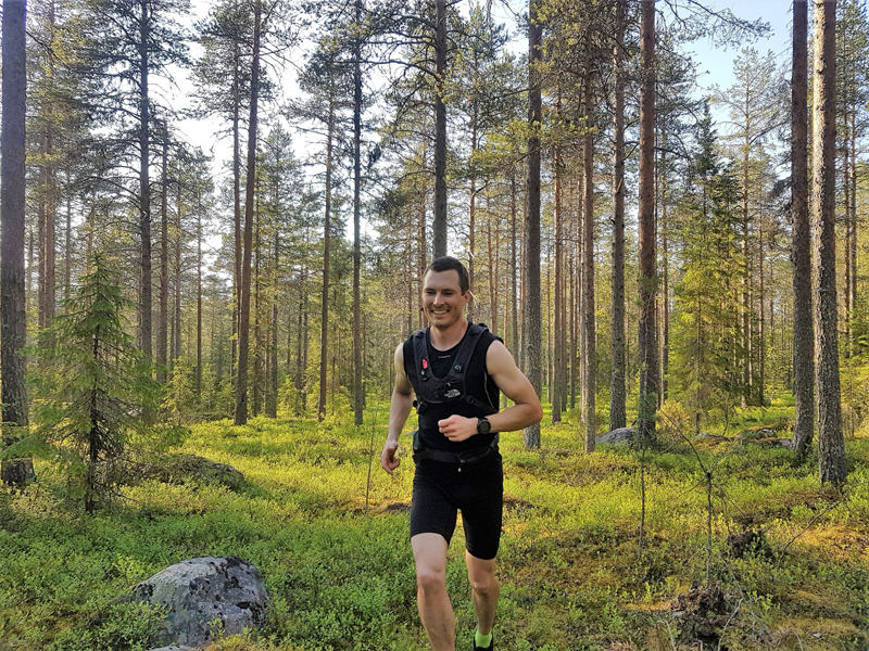 Trail-Running with a Local Guide