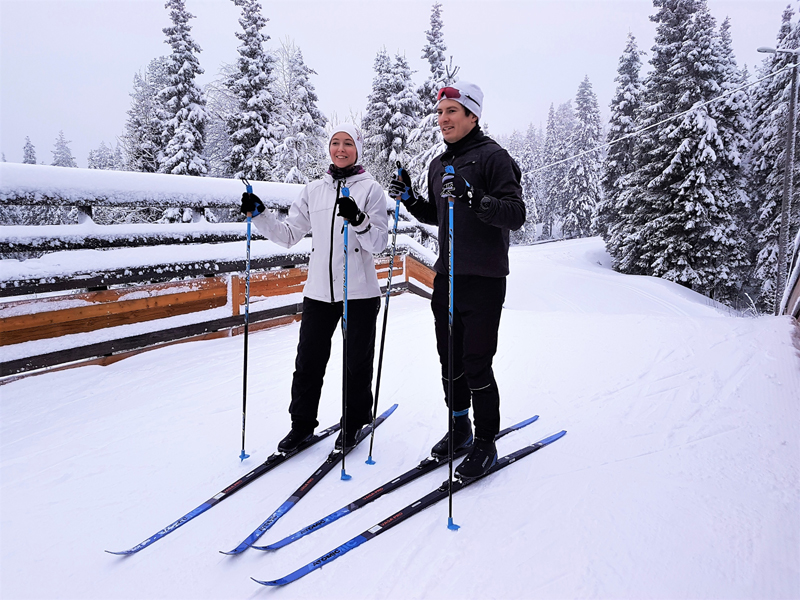Cross-Country Skiing intro